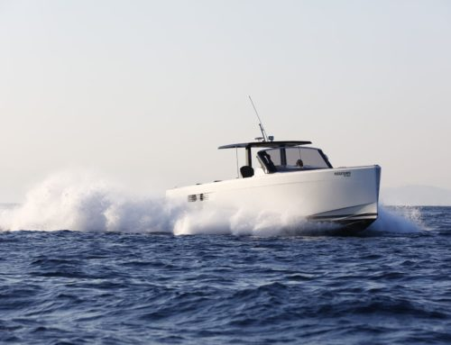 Dynamic Boats Tzalavras Fjord 40 Open for sale